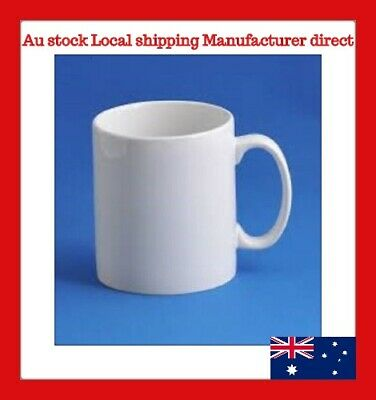 11oz 36 White Sublimation Coated Mugs for Mug Press