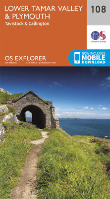 OS Explorer 108: Lower Tamar Valley and Plymouth