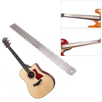 Guitar Neck Notched Straight Edge Luthiers Supply Tools Guitar Fingerboard Ruler