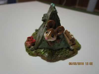 wee forest folk M-16 Camping Out (AP) 1994 perfect condition and signed AP