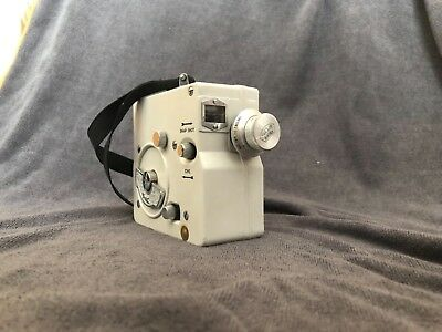 SOM Berthiot Vintage Video Camera with carry bag and extras.