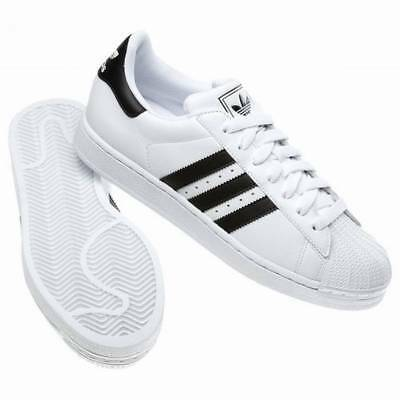info for 340e9 a9317 ADIDAS 'ORIGINALS' SUPERSTAR II Trainers - White/Black - G17068-Size UK  9.5-10.5