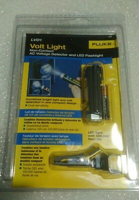 Fluke Lvd1 Non-Contact Volt Detector With Torch