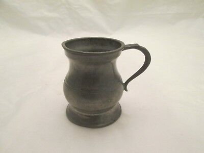 A Fine 19thC Pewter Measure - Gill by Gaskell & Chambers, Birmingham