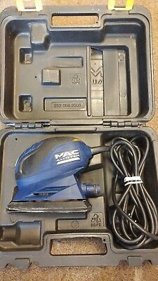 MAC ALLISTER 130w Palm Grip Detail Sander - Used - Free delivery