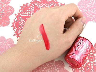 NEW_GENUINE_BENEFIT GoGo Tint Lip and Cheek Stain_Bright Cherry_Full Size 10ml