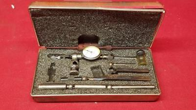 STARRETT No 711 Last Word Dial Test Indicator with Original Case (SS1045215)