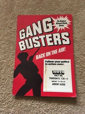 Old Time Radio Show Gangbusters