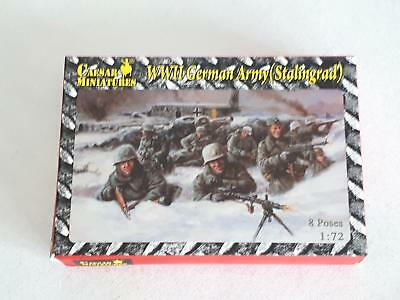 Caesar Miniatures HB09 German WWII 6th Army Stalingrad Wehrmacht 1:72 WWII