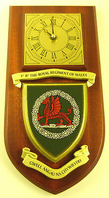 1St Bn Royal Regiment Of Wales Rrw Classic Hand Made To Order Wall Clock