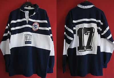 Maillot Rugby maillot rugby Marmande CSLG Porté n° 17 Sport Vintage - L
