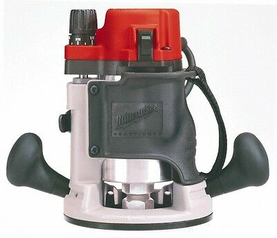 Milwaukee Tool 24,000 RPM, 1.75 HP, 11 Amp, Body Grip Router Electric Router ...