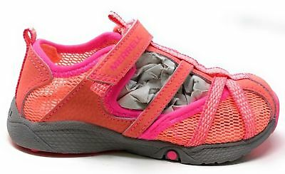 d1bf275d1ccd MERRELL GIRLS HYDRO Monarch JR Water Sandal Shoe Coral Toddler 8.5 M ...