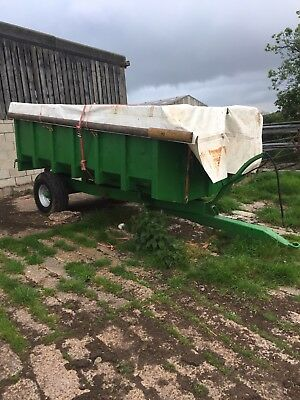 henton grain muck tipping trailer 6t