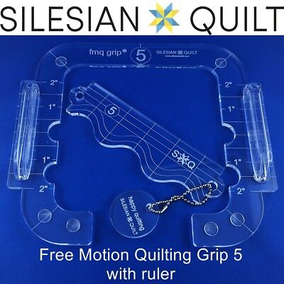 Free Motion Quilting Grip 5 - precision quilting without the use of gloves