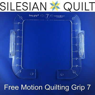 Free Motion Quilting Grip 7 - precision quilting without the use of gloves