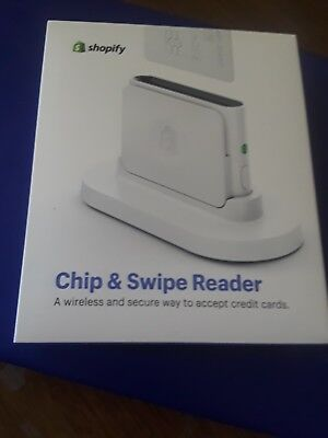 Shopify Chip and Swipe Credit Card Reader New In Box