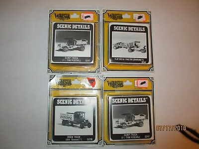 Model Railroad & Trains,HO Scale  4-Vehicles, Woodland Scenic Details
