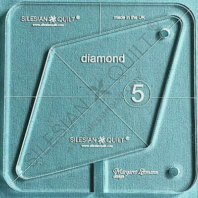 """Template for quilting - Diamond 4.5"""" (template fits to FMQ Grip5)"""