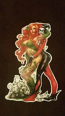 Harley Quinn and Poison Ivy Sticker