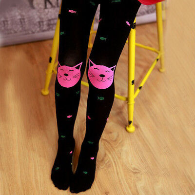 Autumn Girls Tights Bearded Girl Fashion Knitted Stocking Baby Pantyhose t