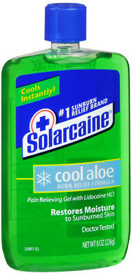 Solarcaine Aloe Extra Burn Relief Gel 8 oz