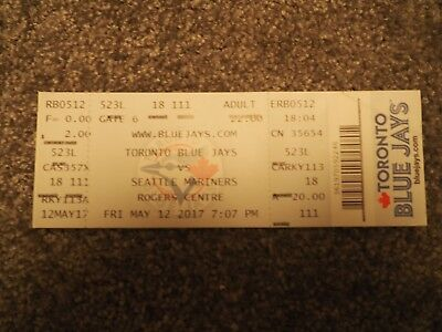 Baseball-Ticket Toronto Blue Jays - Seattle Mariners MLB