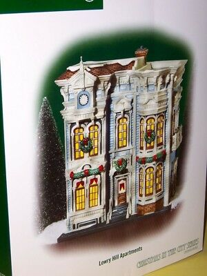 Department 56 Christmas in the City Lowry Hill Apartments 59236 New