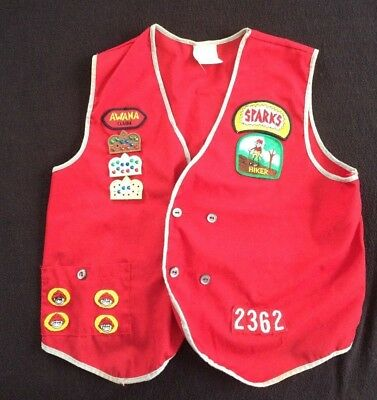 Awana Truth & Training T&T Uniform VEST Award Patches CROWNS Emblems SPARKS