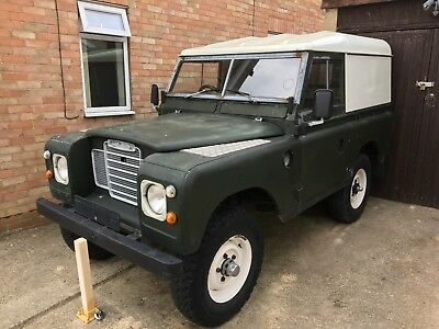 Land Rover Series 3 Restoration Unfinished Project Galvanised Chassis Overdrive