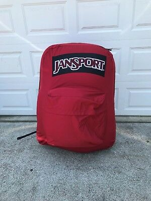 Oversized Jansport Backpack!!! Display Pack!! This Is Huge!!!