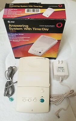 AT&T Answering System with Time/Day 1325 Used & Original Box (TESTED WORKING)