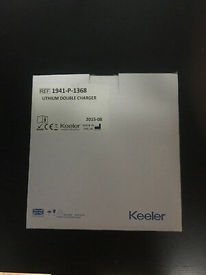 Keeler Lithium Double Charger 1941-P-1368 For Keeler Ophthalmic Instruments