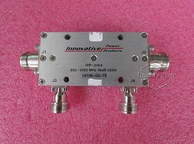 used   IPP-3144 0.6-4GHz 40dB 200W N High power coaxial directional coupler