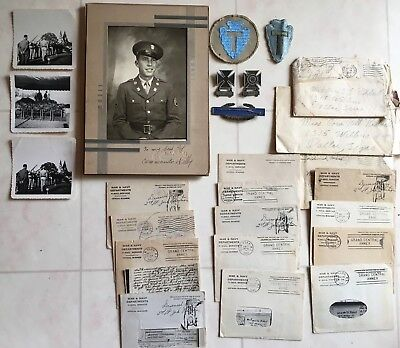 WWII 36th DIVISION KIA NAMED GROUPING / COMMANDO KELLY MOH WINNER AUTOGRAPH
