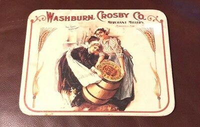 Tin Plaque, Gold Medal, General Mills, Washburn Crosby Co