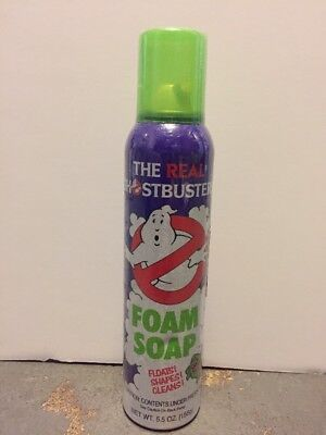 Rare Original Vintage 1986 The Real Ghostbusters Foam Soap Sealed 5.5 oz, DuCair