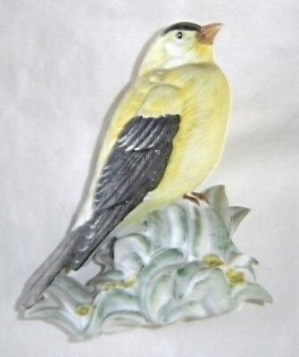 Goldfinch Porcelain Figurine