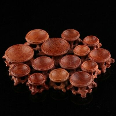 Durable Acid Branch Wood Display Stand Base For Crystal Ball Sphere Decoration
