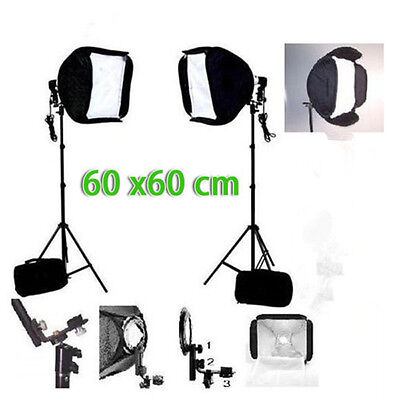 Photography Studio Softbox Diffuser Portable Continuous Light Stand Soft Box