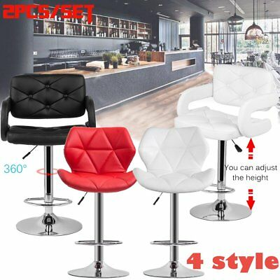 Super Bar Stool Set Of 2 Height Adjustable Kitchen Counter Chair Gamerscity Chair Design For Home Gamerscityorg