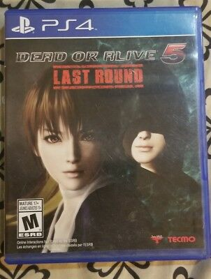 DOA5 Last Round      PLAYSTATION 4 PS4 DEAD OR ALIVE 5 LAST ROUND