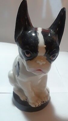 Antique porcelain dog figurines