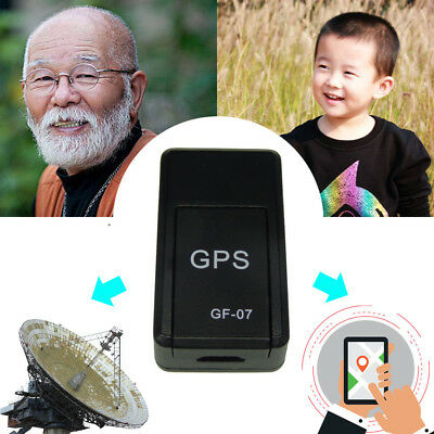 Mini GPS Tracker Real Time MagneticTracking LBS Locator W/Magnet For Car Person