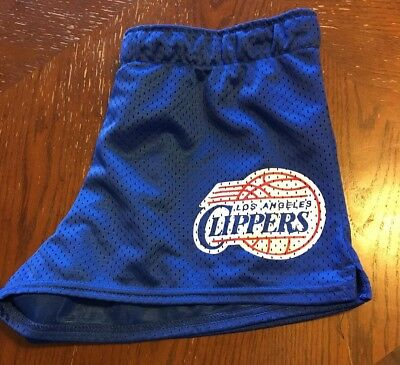LA Clippers NBA Women's Running Athletic Casual Shorts Size Small S