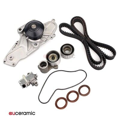 Timing Belt Tensioner Kit Water Pump for 98-02 Acura Honda ACCORD 3.0L 3.2L 3.5L