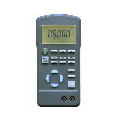 4-20mA 0-10V Signal Generator Process Calibrator Current Voltage Tester & Output