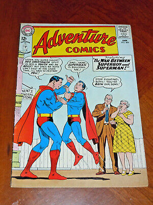 ADVENTURE COMICS #304 (1963) FINE- cond (5.5)  KEY: Death of LIGHTNING LAD