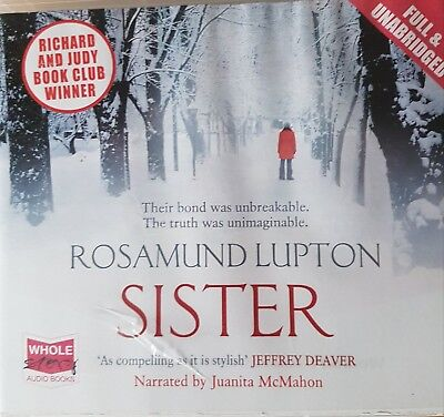 Sister by Rosamund Lupton - unabridged audiobook over 10 cds