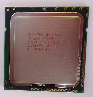 Intel L5640 2.26Ghz/12M/5.86 SLBV8 6 Core 12 Thread Processor